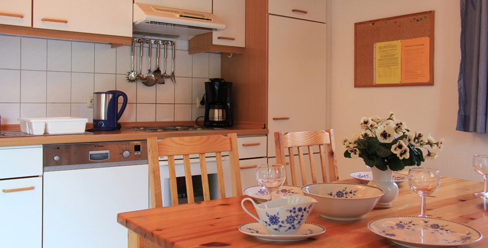 Ferienhaus Am Hyeholz Küche