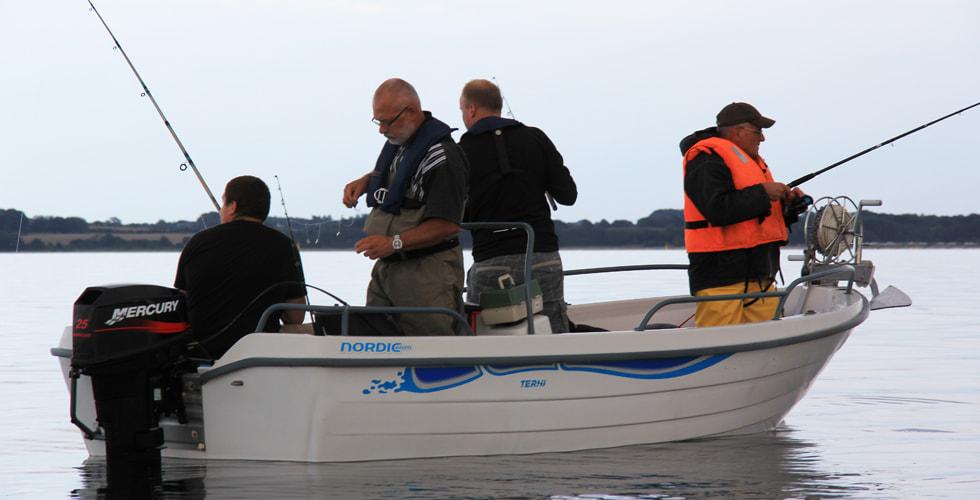 Angeln in der Ostsee vom Boot aus